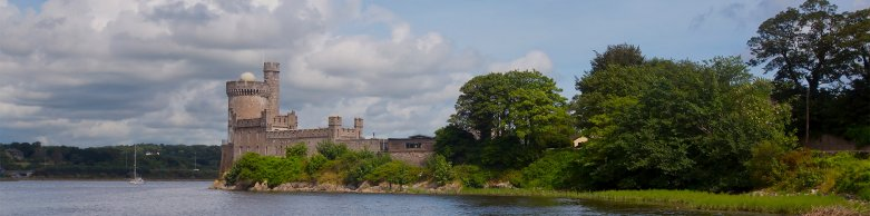 View of Blackrock Castle Observatory by the River Lee
