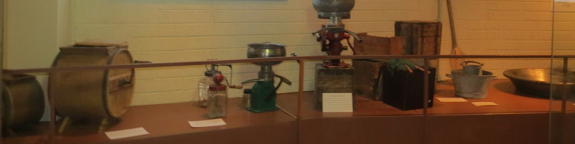 Butter Making Tools on display