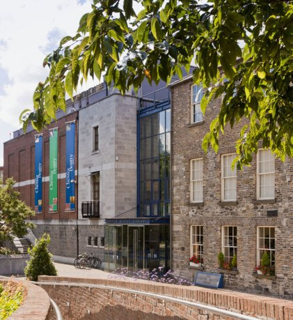 View of Chester Beatty Library building