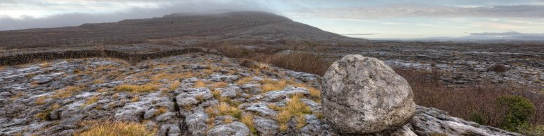 Burren's rough and intriguing Landscape