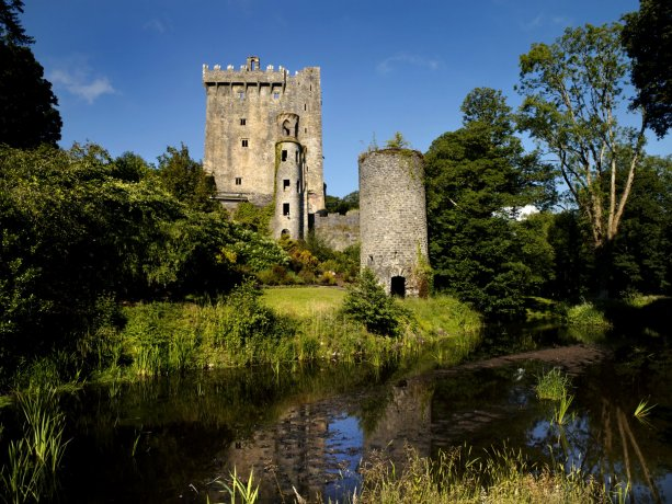 Blarney Castle from outside