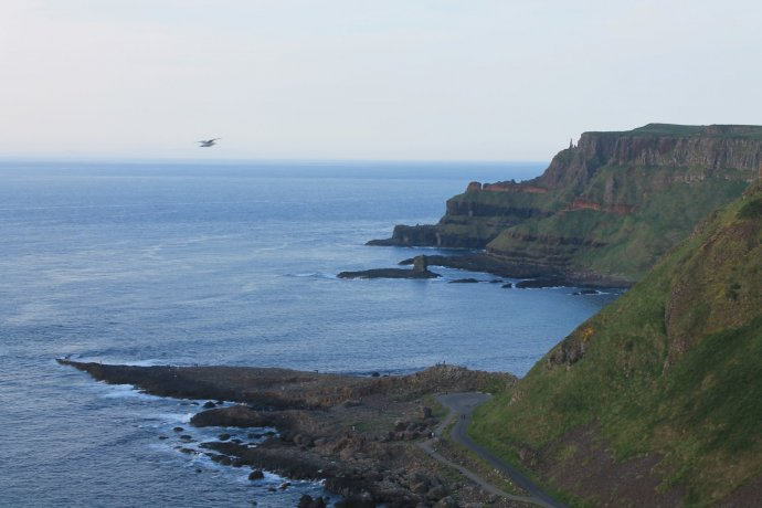 Giant's Causeway From The Clifftop