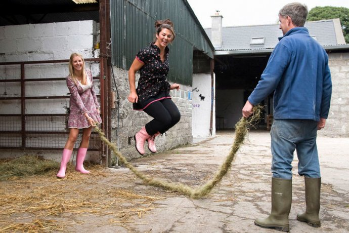 Rope Skipping at Causey Farm