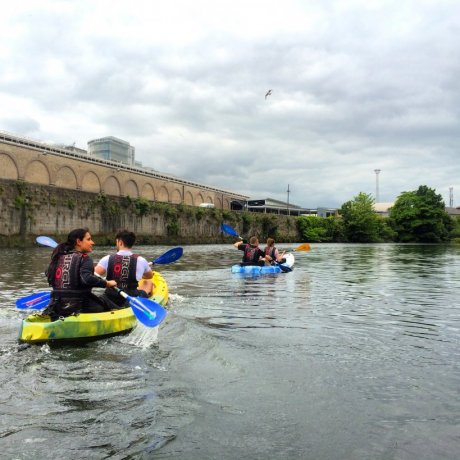 Explore Dublin's famous river by kayak!