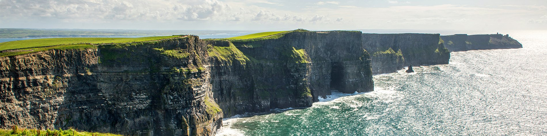 Landscape of Cliffs of Moher - Day Trips Dublin