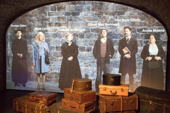 Interactive High Tech Attractions in Dublin - Irish Emigration Museum