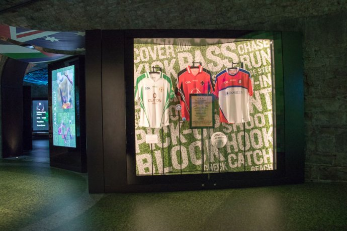 Jersey Display in Irish Emigration Museum