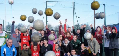 Experience Gaelic Football, Hurling and Handball!