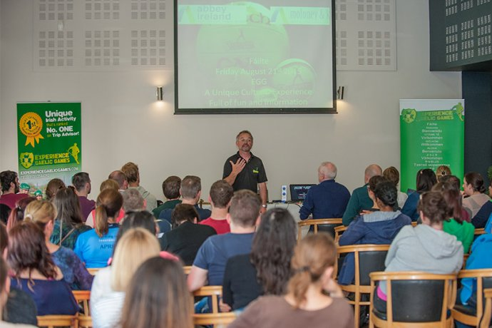 Gaelic Games in Dublin Audiovisual Presentation for Groups
