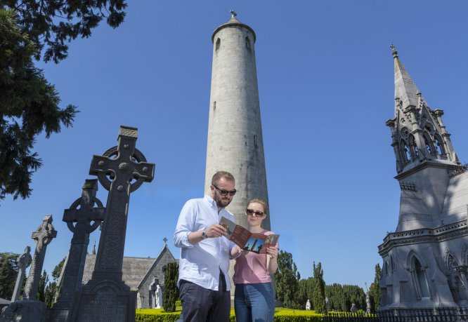 Many famous people from history are buried at Glasnevin