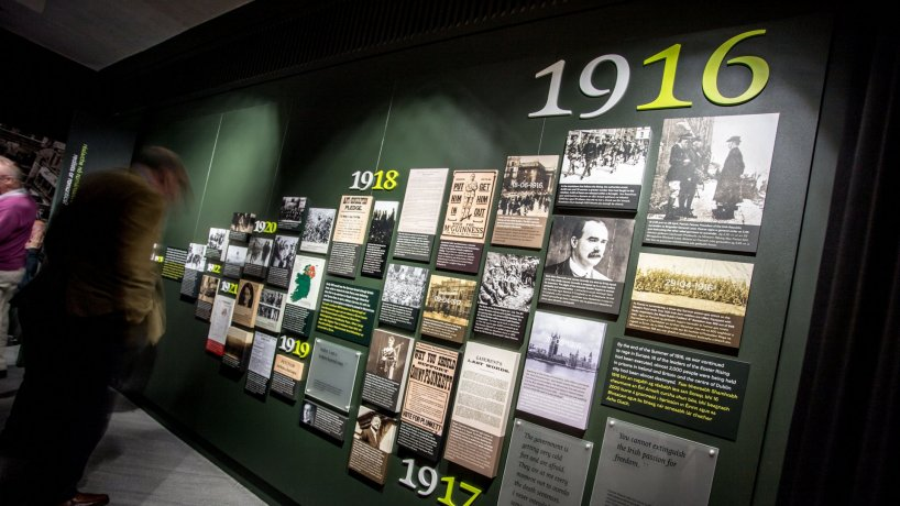 The Witness History Exhibition starts with the 1916 Easter Rising
