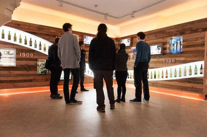 Even if you're not into whiskey, the Irish Whiskey Museum gives a great overview of Irish general history and culture