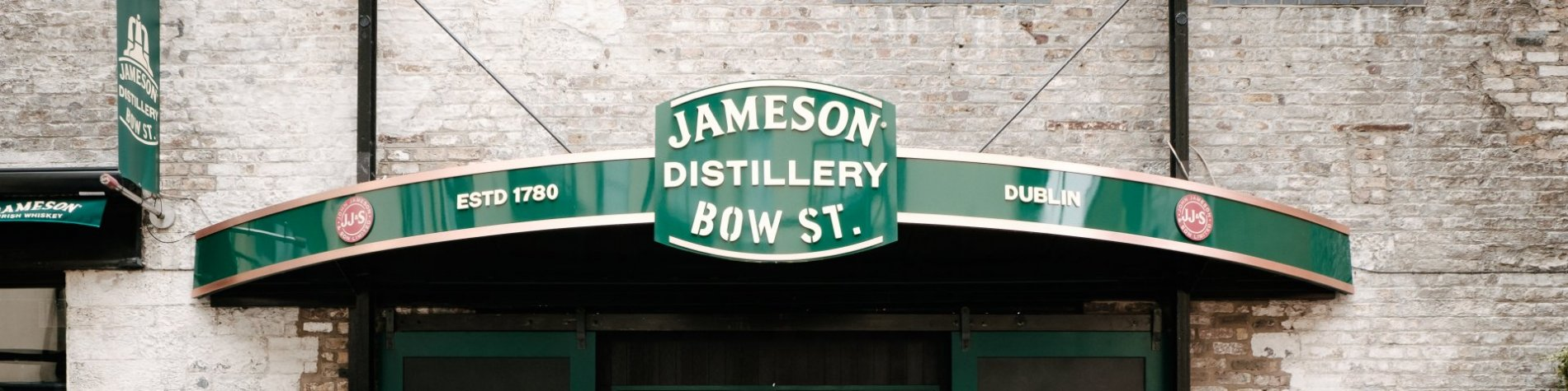 Improved Jameson Distillery after being re-opened in 2017