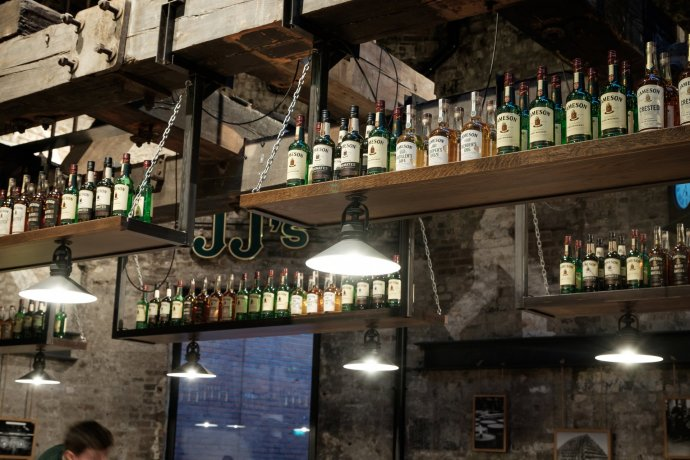 The Jameson Distillery tour features a traditional Irish whiskey tasting at Jameson bar