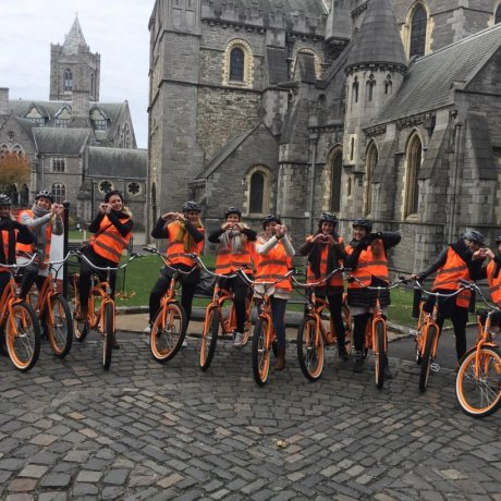 Lazy Bike Tours cover many attractions in Dublin