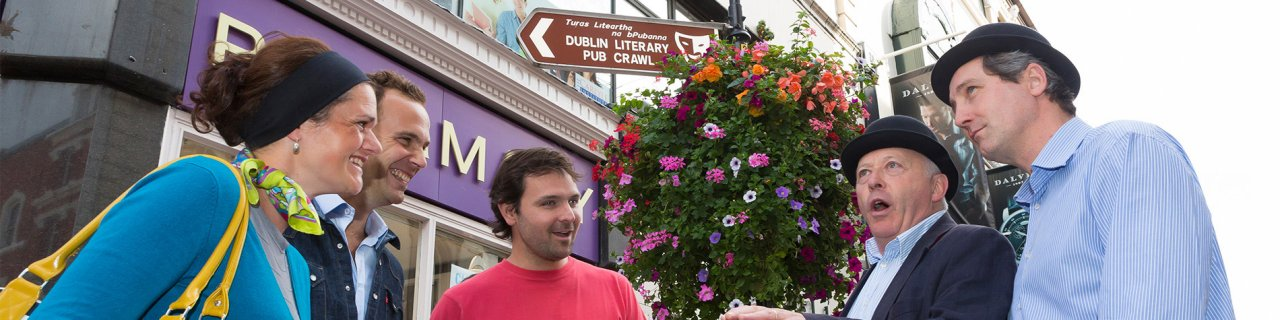 Dublin Literary Pub Crawl Critically Acclaimed Tour
