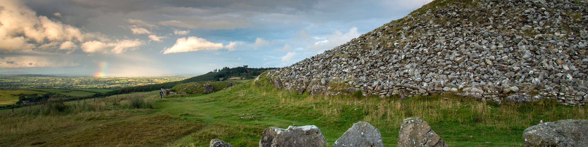 Loughcrew Ancient Celtic Cairns