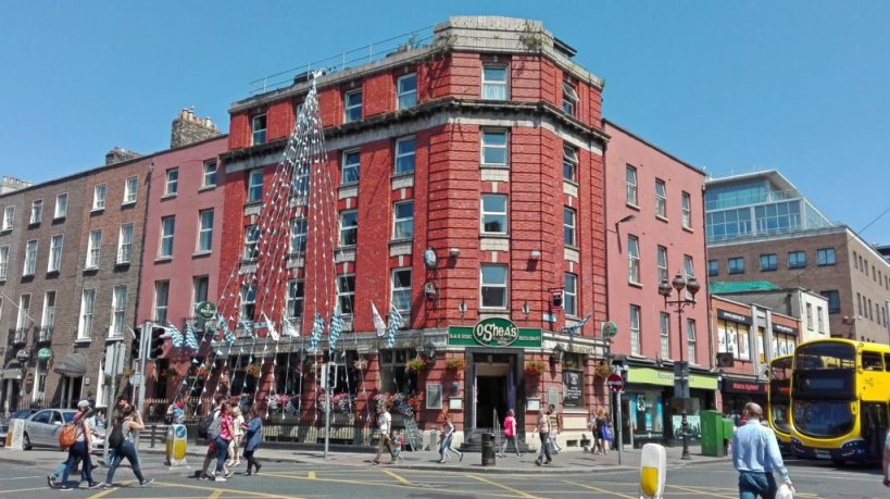O'Sheas is an ideal venue for your group to have a meal in central Dublin