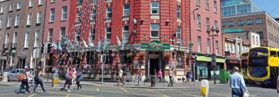 Traditional Irish Restaurant for Groups O'Sheas in central Dublin