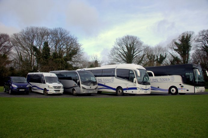 Buses, Coaches, Mini Coaches and Minibuses Used for Group Airport Transfers