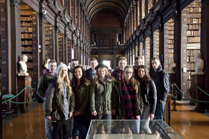 The tour will teach about Trinity College's history, buildings and give you context  where it stands in Ireland's history