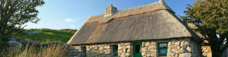 Authentic Irish 17th Century Cottage