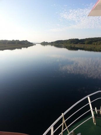 The river Corrib has a peace and tranquilty all of its own