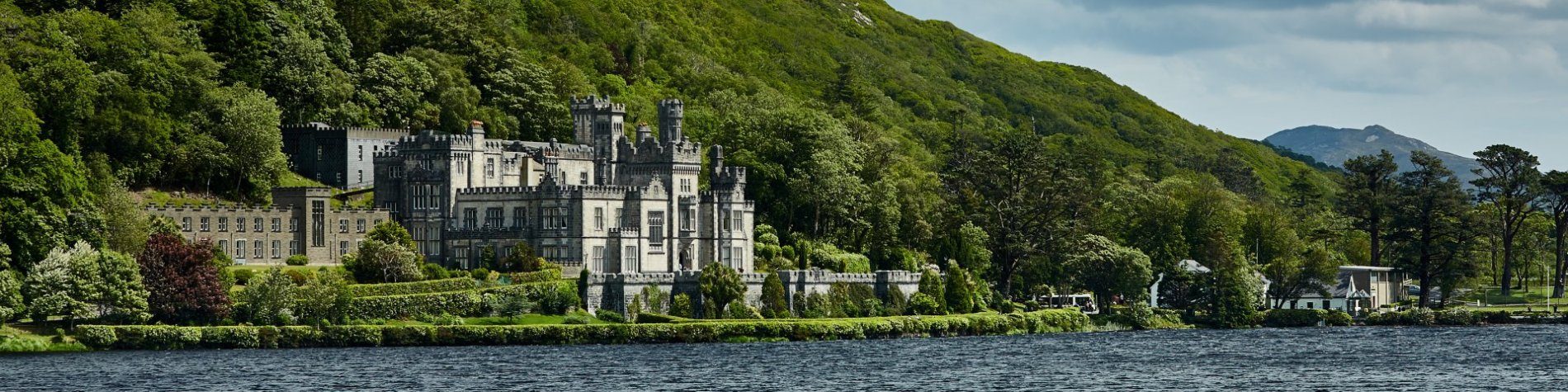 Kylemore Abbey Neo Gothic Castle Landscape - Galway's Attractions
