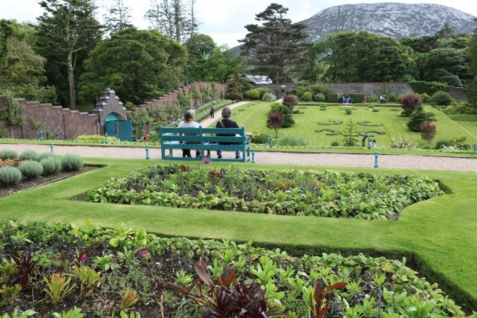 The Kylemore gardens are as vast as they are beautiful