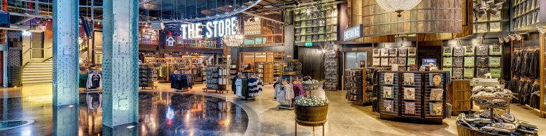 Explore the Gift Store on the Guinness Storehouse Ground Floor