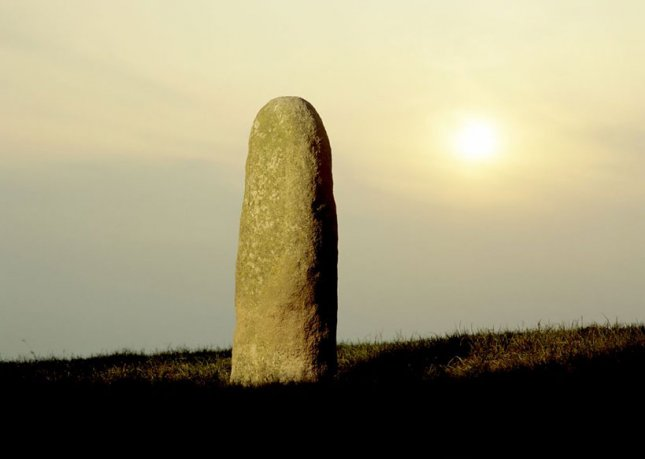 Standing Stone at the Hill of Tara