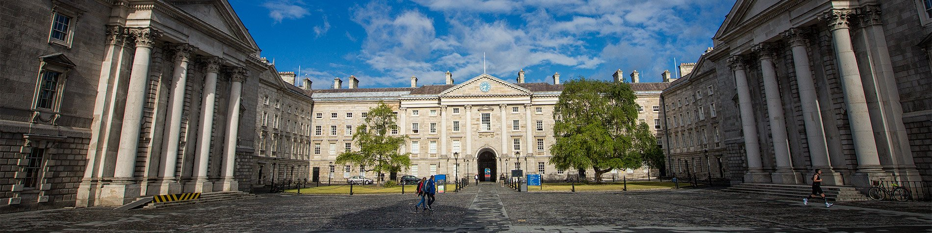 Trinity College Campus on a walking tour