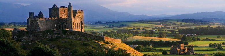 Rock of Cashel Castle During Sunset