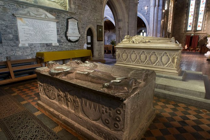 St. Canices Cathedral Sarcophagus