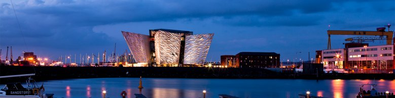 Titanic Belfast in the Historic Titanic Quarter