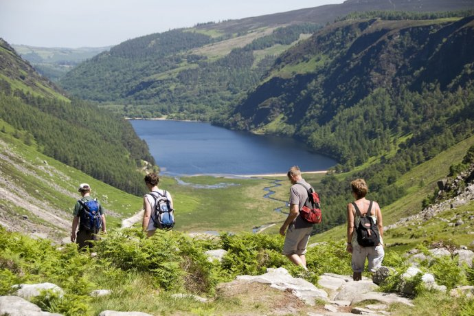 Go hiking close to Dublin in the Wicklow Mountains