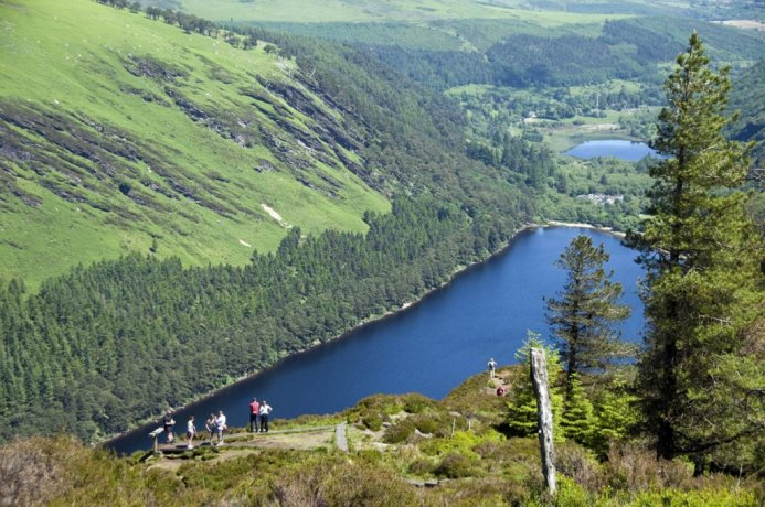 The Wicklow Mountains offer a breath of fresh air close to Dublin city