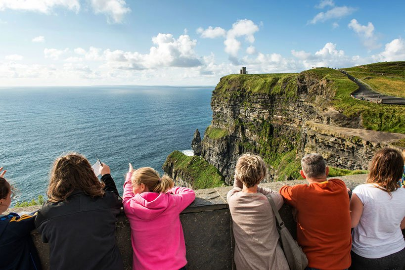 The Cliffs of Moher Visitor Centre Welcomes Tourists