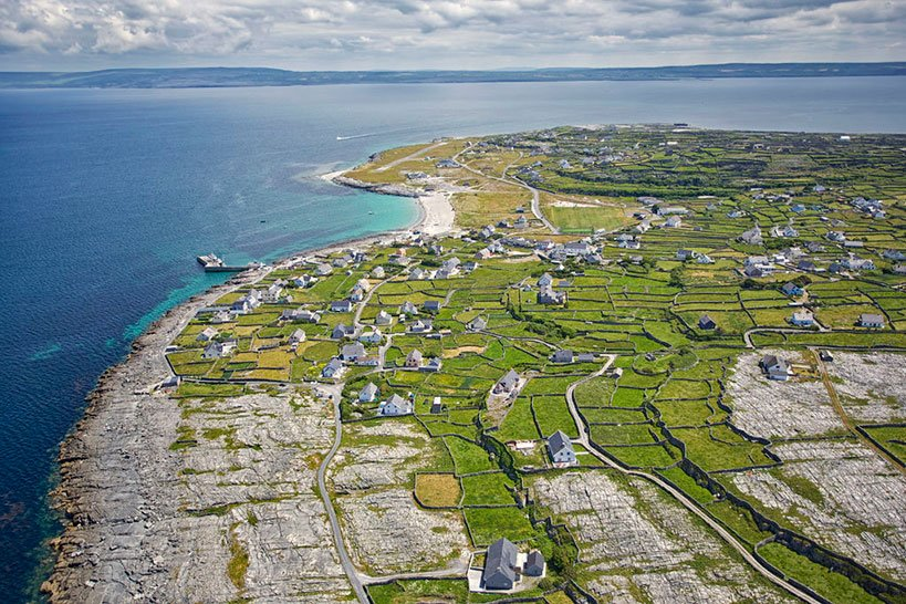 Inis Oirr Is the Smallest of the Aran Islands