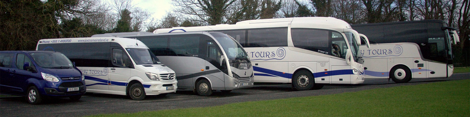 Coach Hire in Ireland for Organised Groups