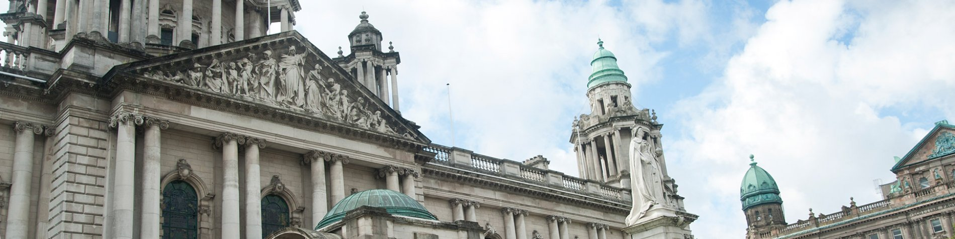 Hire a Coach and Stroll Through Belfast City Centre Past the City Hall