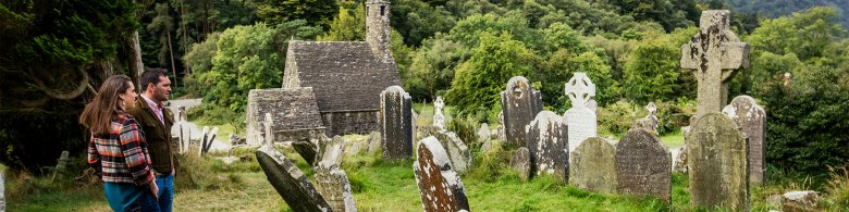 Hire a Coach and Visit the Monastic Site at Glendalough in the Wicklow Mountains