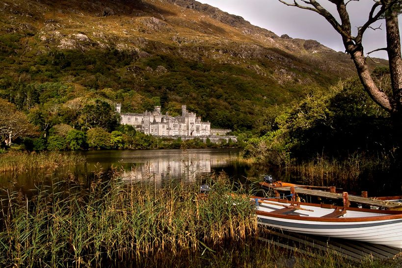 Kylemore Abbey Upon A Stunning Lake