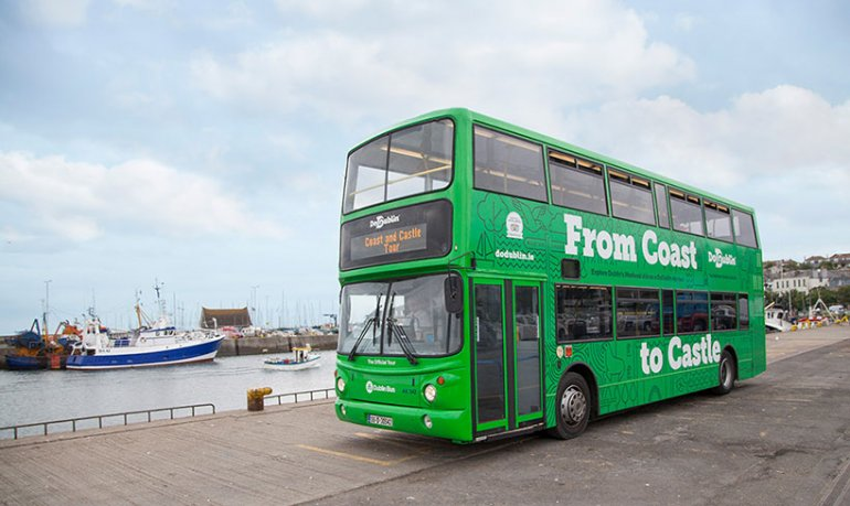 The DoDublin Double Decker Takes Your Group on the Day Trip North of Dublin