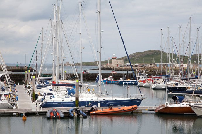 Howth Harbour is a Charming Village Just North of Dublin