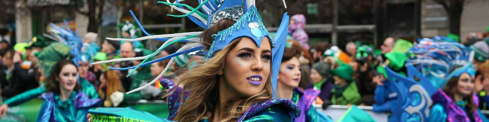 St. Patrick's Day parade & festival in Ireland