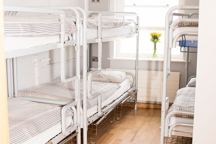 Abbey Court Hostel Dublin 6 Bedded Room With Bunk Beds