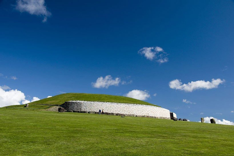 Newgrange, an Ancient Tomb in Ireland's Ancient East
