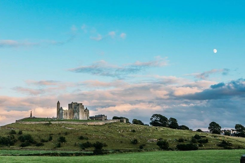 The Rock of Cashel Stands in Ireland's Ancient East Since the 1100s