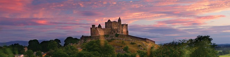 View of The Rock of Cashel Tipperary - Best 10 attractions on a Group Trip to Ireland
